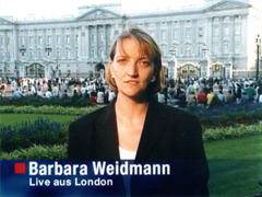 Barbara Weidmann live aus London