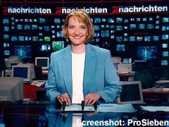Barbara Weidmann bei den ProSieben-Nachrichten